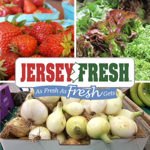 Jersey Fresh Strawberries Lettuce Onions