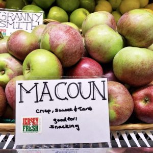 Jersey Fresh Macoun Apples